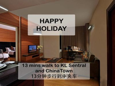 Photo for R1 ~13min walk: KL Sentral,Chinatown13分钟步行到中央车站
