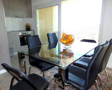 Photo for Apartment 798 m from the center of Calonge with Parking, Internet, Washing machine, Air conditioning (1010031)