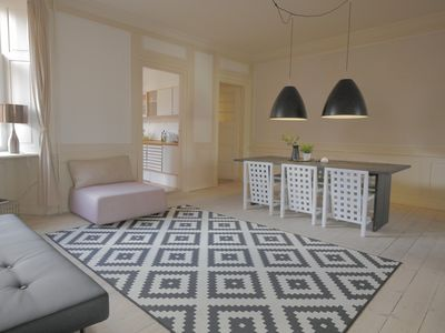 Photo for Beautiful and charming 180m2 apartment with 3 bedrooms.