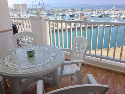 Photo for Penthouse - Private Roof Sun Terrace – Air Con, Sat TV, Wifi - No Hidden Cost