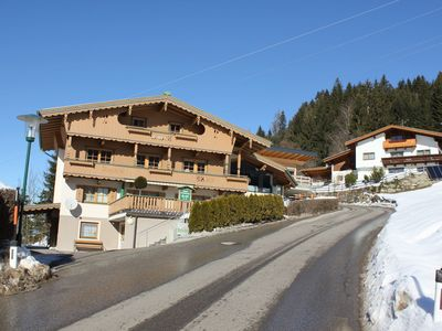 Photo for Comfy Apartment in Zell am Ziller with Ski-Storage & Balcony