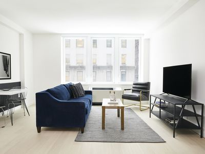 Photo for Sonder | Wall Street | Pristine 1BR + Sofa Bed