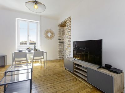 Photo for Large and confortable apartment on Bayonne city-center