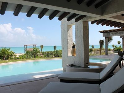 Photo for Villa Escape HUGE BEACHFRONT Luxury 4BR w/private pool