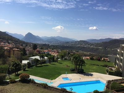 Photo for 1BR Apartment Vacation Rental in Cadro, Tessin