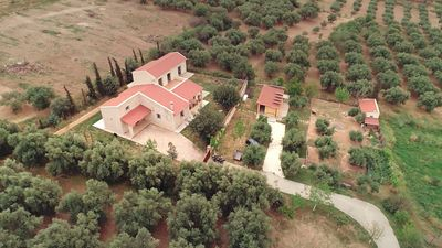 Photo for Eco-friendly cottage in the Dafnes wine-growing region, Heraklion, Crete