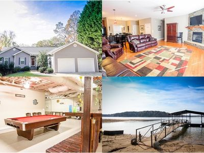 2 gorgeous homes with beautiful lake views to accommodate large parties