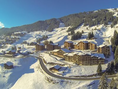Photo for Apartment, Bisanne - Les Saisies, ski slopes, swimming pool, panoramic view