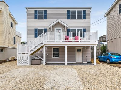 Photo for Bayside Duplex Unit 1 on LBI  steps from the bay