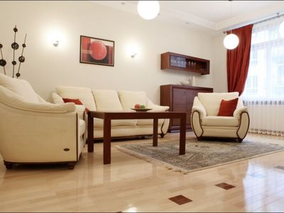 Photo for Spacious Niemcewicza  apartment in Ochota with WiFi.