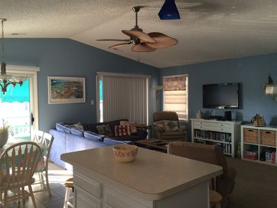 Photo for Updated Top Floor Condo 1 1/2 block to beach with off street parking