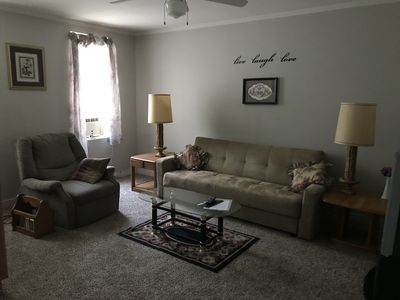 Photo for Pottsville Place, one bedroom, 3rd floor furnished apartment, washer & dryer