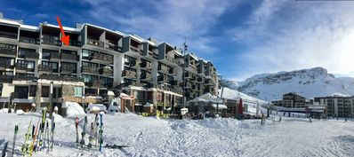 Photo for 27 sqm Studio - Ideal location on the slopes with breathtaking view