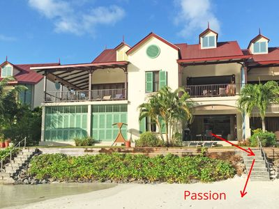 """Apartment """"Passion"""" with private staircase to the beach"""