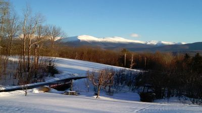 Photo for A wonderful getaway with stunning views of Mt. Washington set on over 40 acres.