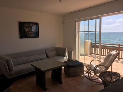 Photo for Exceptional sea view - Villa on the beach Valentin - direct access