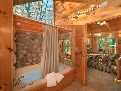 Photo for Smoky Mountain Cabin  MOONLIGHT OBSESSION 254