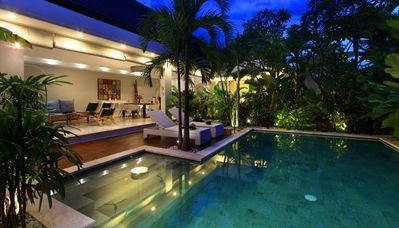 Photo for Central Seminyak 500m Beach villa (#C8)