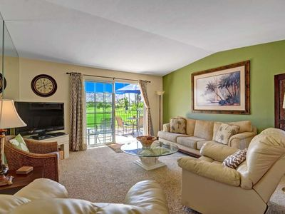 Photo for Cozy Mesquite CC condo w/ Exceptional Views of the Golf Course & Mountains!