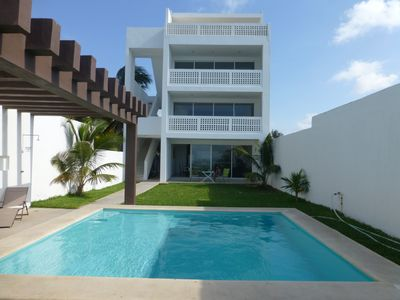 Photo for Casa Frida - stunning beachfront condo!