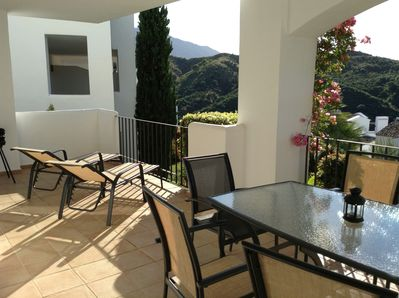 Large Terrace with amazing views and Sun