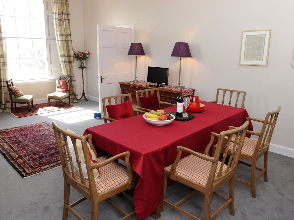 SC1477: Beautiful Period Apartment with Sea Views on Fife ...