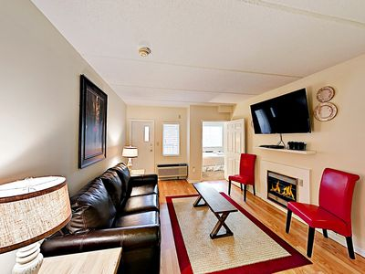 Photo for Cozy Mountain Escape w/ Fireplace: Walk Downtown, Close to Slopes & Trolley