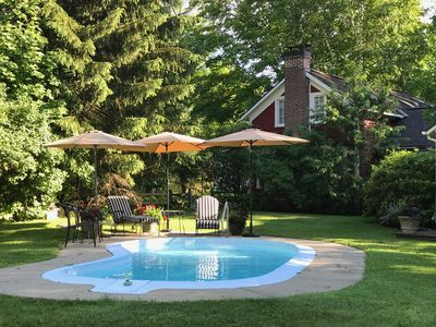 Photo for Heated Pool, Golf at Equinox, hike, horseback ride and much much more!!