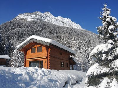 Photo for Modern and cozy chalet in the Swiss Valais - Mont Blanc massif
