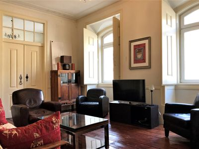 Photo for Center (Baixa) - 3 bedrooms apartement recently renovated