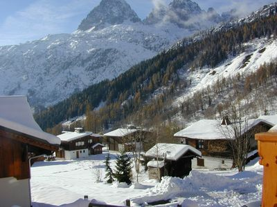 Photo for Chalet-apartment with internet access near slopes; ideal for skiers and walkers