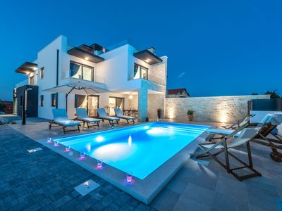 Photo for Luxurious villa Anita just  100 m from sandy beach