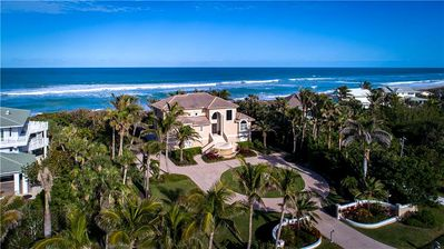 Photo for Direct Oceanfront and Riverfront House in Vero Beach. Over 2 Acre Estate