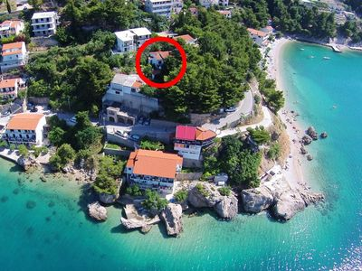 Photo for Apartment in Mimice (Omiš), capacity 4+4