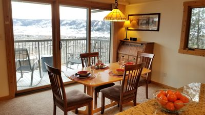 Photo for Best View in Steamboat ~ Full Remodel ~ HBO/DVR ~ Super Clean!