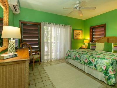 Photo for Charming one bedroom condo steps from the Cruz Bay waterfront.