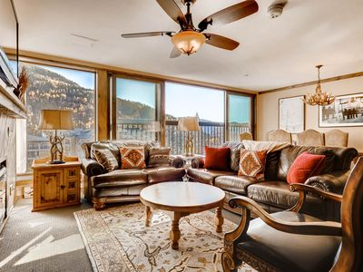 Photo for Vail Spa – 3BR / 3BA: Amazing Views, Open Layout and Steps to Lifts