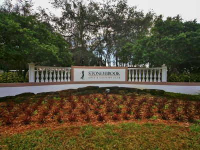 Photo for 2br, 2b Condo On 3rd Fairway Of Arthur Hill Designed 18 Hole Golf Course.