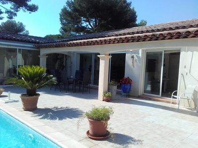 Photo for Seasonal rental villa at Six Fours les Plages