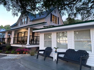 Photo for Bayview Bungalow-Sunset,Pier and Park view-The Bay House & Bungalows of Fairhope