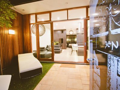 Photo for Zen Villa is award winning accommodation situated in Stirling, Adelaide Hills.