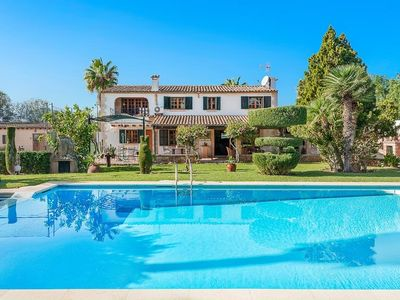 Photo for 5 bedroom Villa, sleeps 10 in Port de Pollença with Pool, Air Con and WiFi