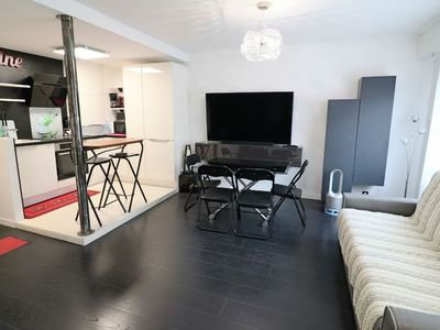 Photo for Nice renovated T2 in the heart of the city center, everything on foot, wifi