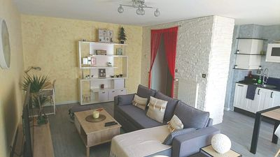 Photo for Large apartment T2, quiet, near Lyon, balcony parking and transport