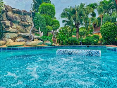 Photo for AMAZING Villa w/Jacuzzi, BBQ, football & much more...