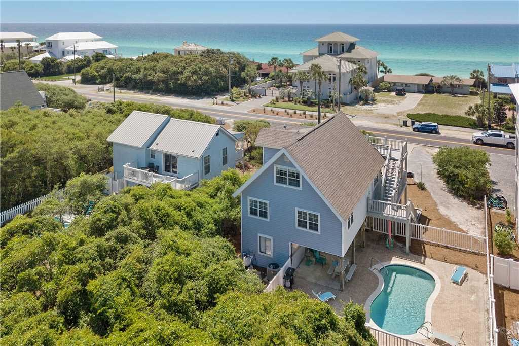 Seacrest Beach 30a Private Pool Steps To The