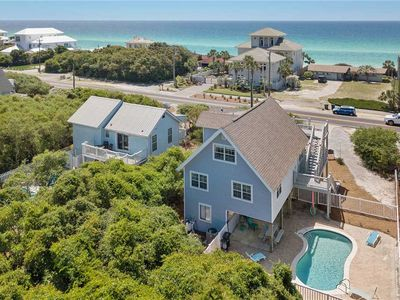 Photo for Coral Rose - Gulf View! Seacrest Beach! 30A! Private Pool! Steps to the Beach!