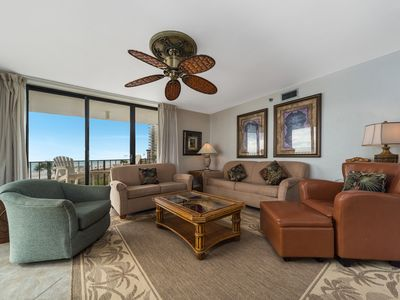 Photo for New Listing! Stunning beachfront condo @ Edgewater! 11 Pools, 4 Hot Tubs, WiFi!