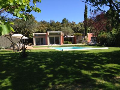 Photo for VILLA with SWIMMING POOL, GARDEN and FOREST 3000m2 at the gates of AVIGNON