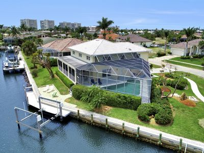 Photo for (4 Bedroom + Loft) Waterfront property perfect for your next island getaway!